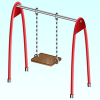 Preview for Create a Childrens Swing using Clipping Masks and Blends