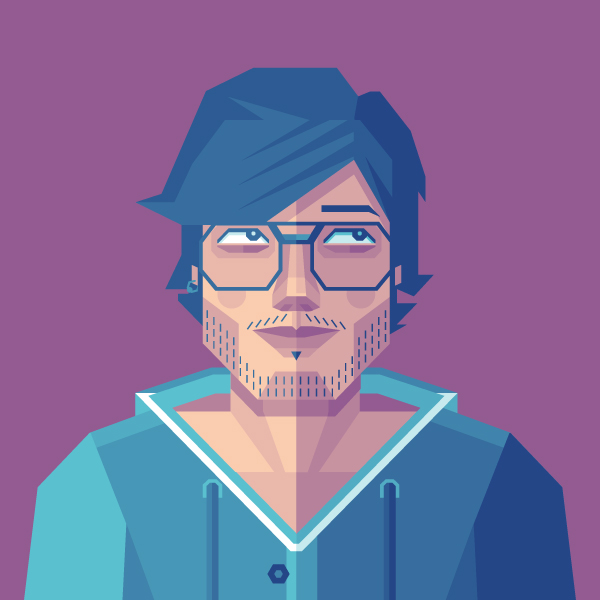 Link toHow to create a self-portrait in a geometric style