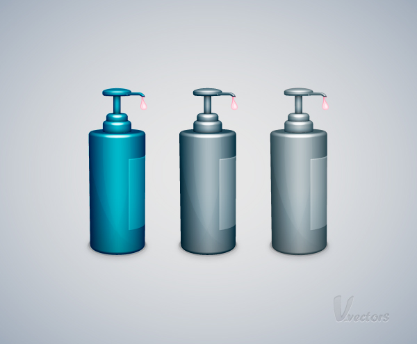 Link toHow to create a liquid soap bottle vector illustration