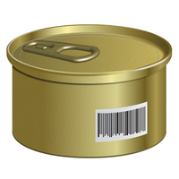 Preview for How to Create a Can with a Barcode in Adobe Illustrator