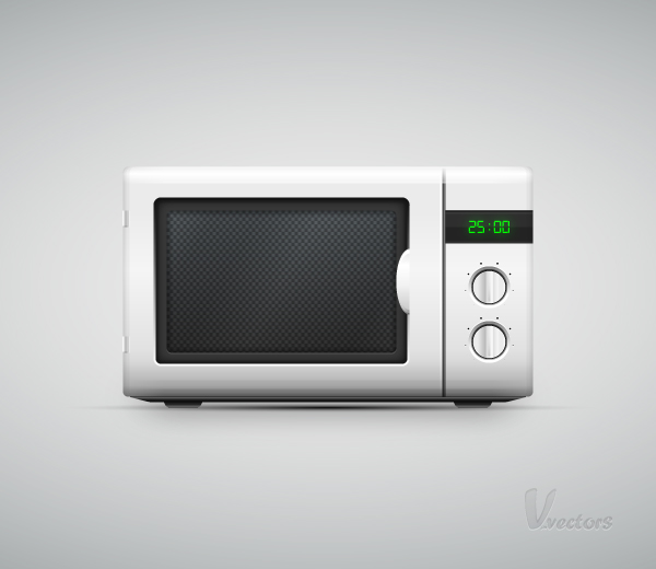Link toHow to create a vector microwave oven illustration