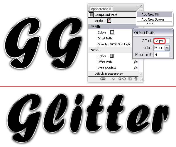 How To Create A Vector Glitter Text Art Effect