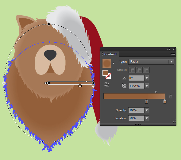 how to create a dog logo in illustrator