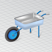 Preview for How to Draw a Wheelbarrow in Perspective in Adobe Illustrator