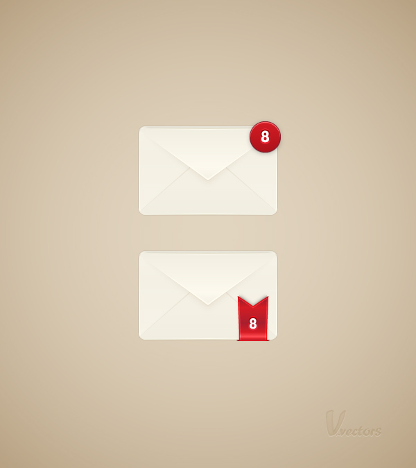 Link toHow to create to mailbox alert icon in adobe illustrator