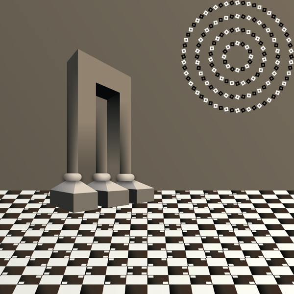 how to create a vector optical illusion. Black Bedroom Furniture Sets. Home Design Ideas