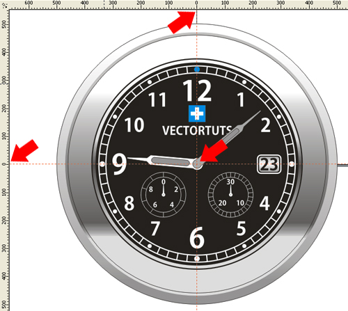 How To Create A Steel Wristwatch In Corel Draw