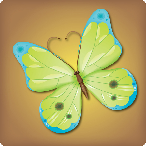 Link toHow to make an attractive vector butterfly