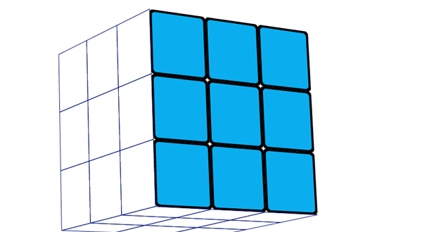 How to create a rubiks cube in photoshop