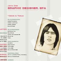 Preview for Using InDesign to Create a Designer Resume