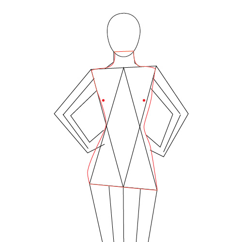 Modeling The Human Body In Adobe Illustrator