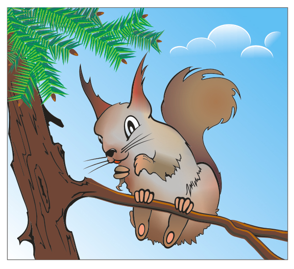 How To Make A Cheeky Squirrel Using Corel Draw X3
