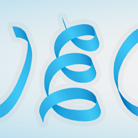 Preview for Create a Silky Ribbon Text Effect