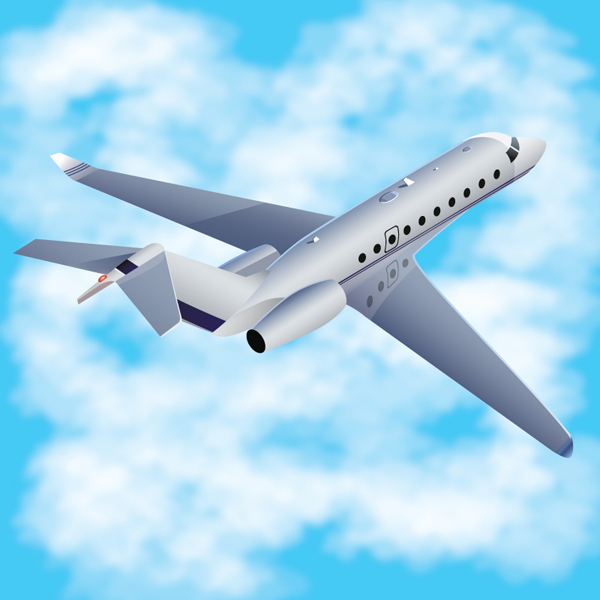 Link toHow to create a three-dimensional airplane with adobe illustrator