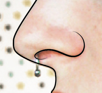 How To Draw A Nose In Adobe Illustrator