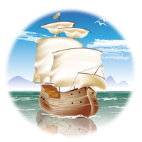 Preview for Create a Classic, Sailing Ship in Illustrator CS5