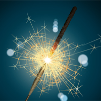 Preview for Create a Realistic, Burning Sparkler Using Adobe Illustrator