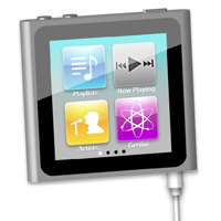 Preview for Make an iPod Nano Using Illustrator's 3D Effects