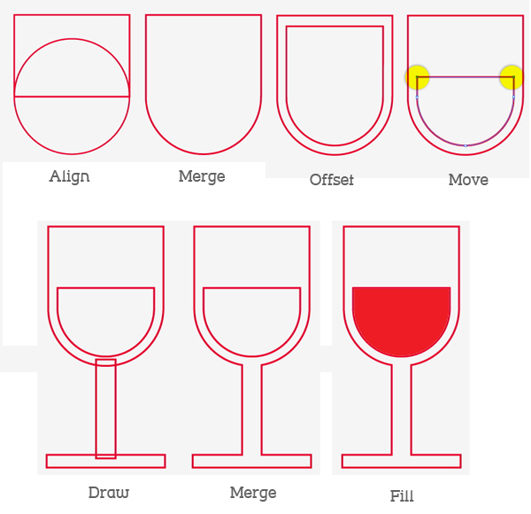 Create the Wine Glass