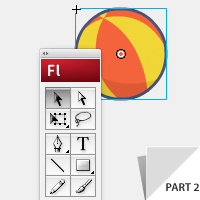 Preview for Illustrate and Animate a Bouncing Ball: Part 2 - Adobe Illustrator + Flash