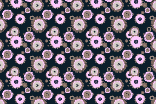 Wall Paper Patterns how to make a foolproof flowery wallpaper pattern