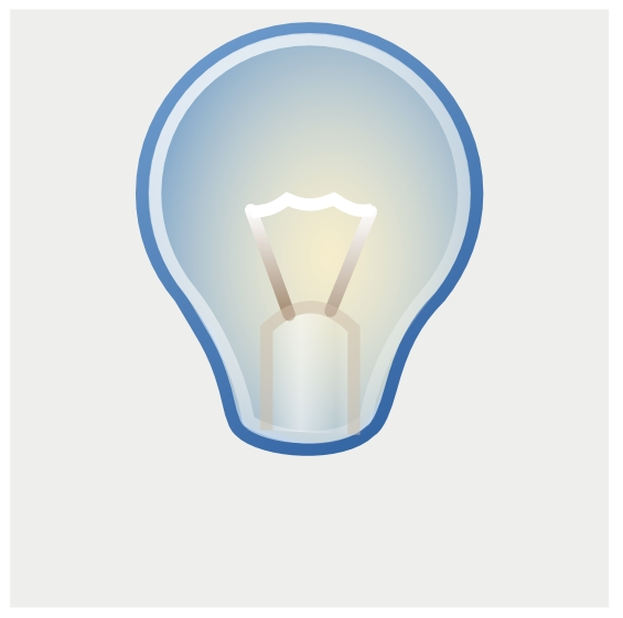 how to draw a light bulb in inkscape