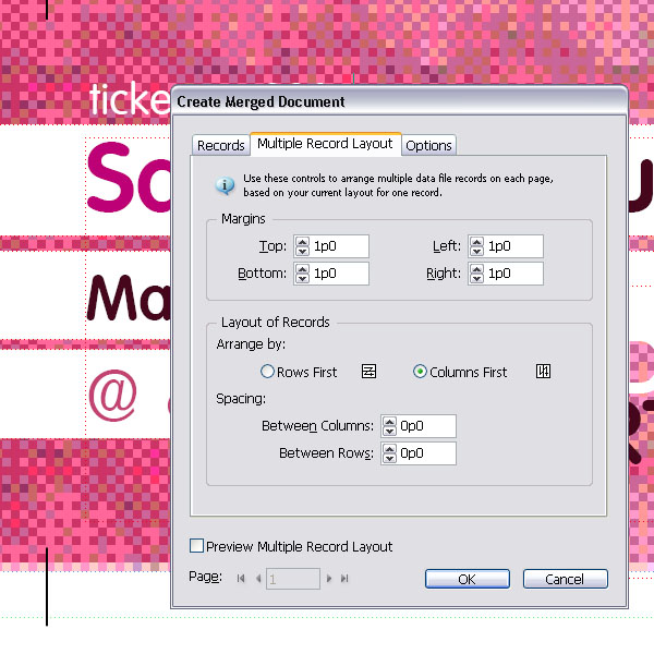 Create numbered tickets the easy way in indesign fandeluxe Image collections