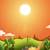 Preview for How to Create a Landscape Wallpaper for your Desktop