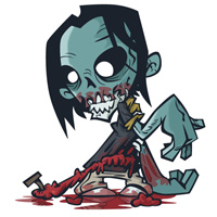 Preview for How to Create a Stinking Zombie Flesh-Eater in Illustrator