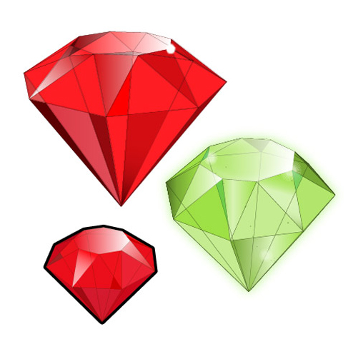 How to Create 3D Gemstones Using Adobe Illustrator and