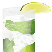 Preview for How to Create a Fresh Mojito Cocktail Glass
