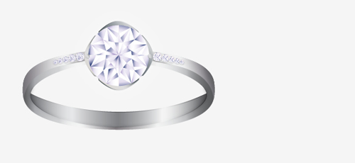 How To Make A Vector Diamond Ring In Illustrator