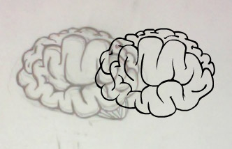 How To Draw A Realistic Brain