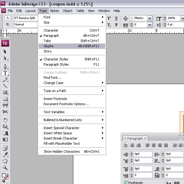 How To Create A Coupon In Indesign