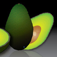 Preview for Create a Stylized Avocado in Illustrator