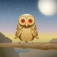 Preview for How to Create a Curious Owl in Illustrator CS4