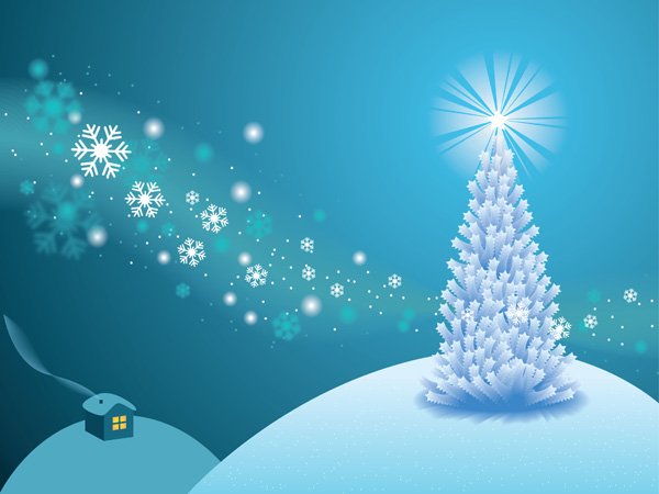 How to make a white holiday scene in illustrator - Carte de voeux a imprimer gratuites ...