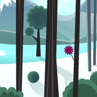 Preview for Smoothly Shift Winter Colors, While Creating an Icy, Vector Landscape