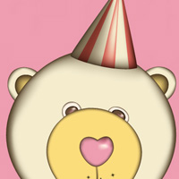 Preview for Create a Cute Retro-Flavored Teddy Bear with the Gradient Mesh Tool