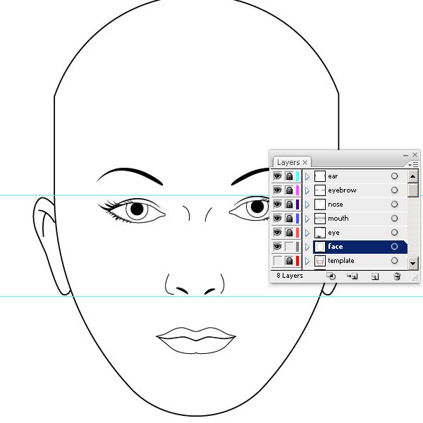 Design U0026 Illustration   Envato Tuts+  Blank Face Templates