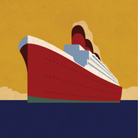 Preview for How to Create a Vintage Ocean Liner Poster