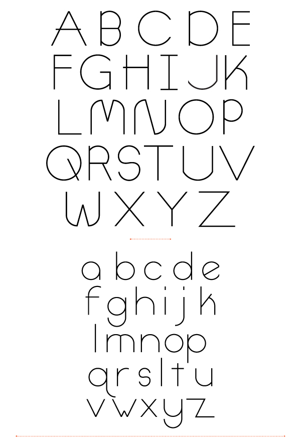 Link toDesigning a typeface, with illustrator and fontlab, from start to finish - part 1