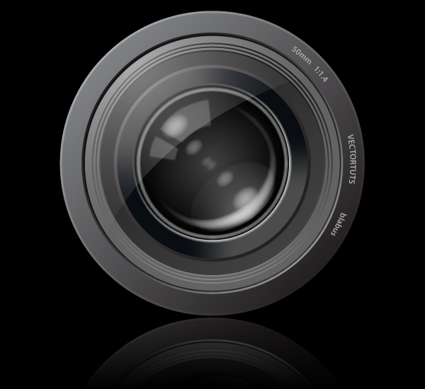 Link toCreate an aperture style camera lens icon