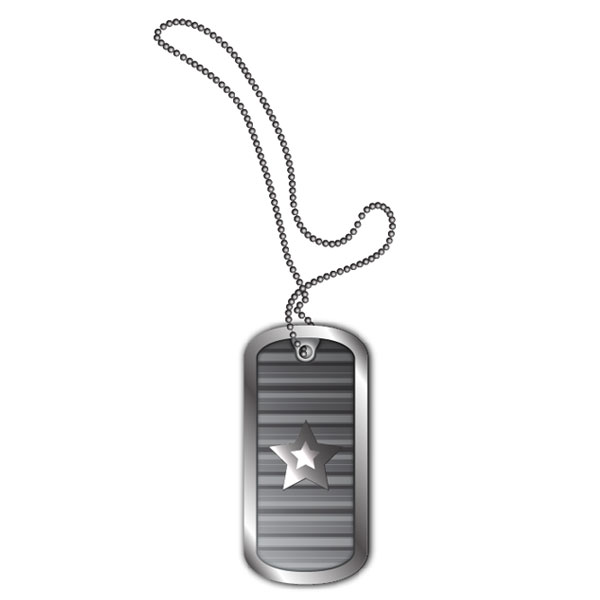 create stylized vector dog tags honseng crafts gifts co ltd