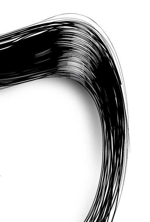 Easily Make Shiny Realistic Vector Hair