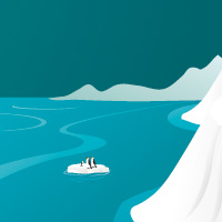 Preview for Create an Attractive Arctic Landscape Environment in Illustrator