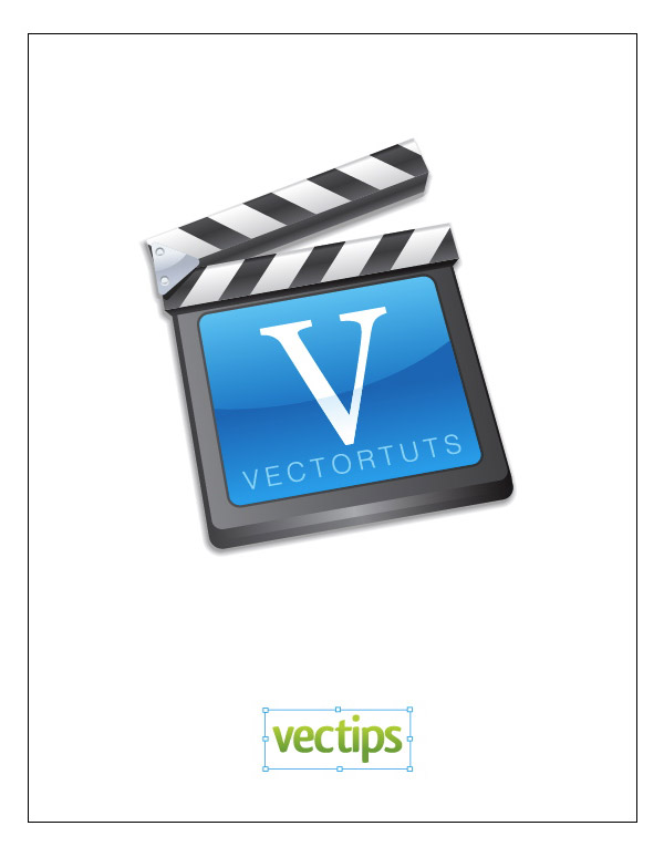 Link toCreate a vector film slate icon