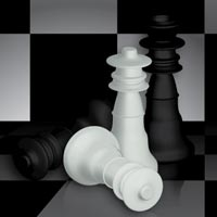 Preview for Create a Checkered 3D Chess Figure Scene