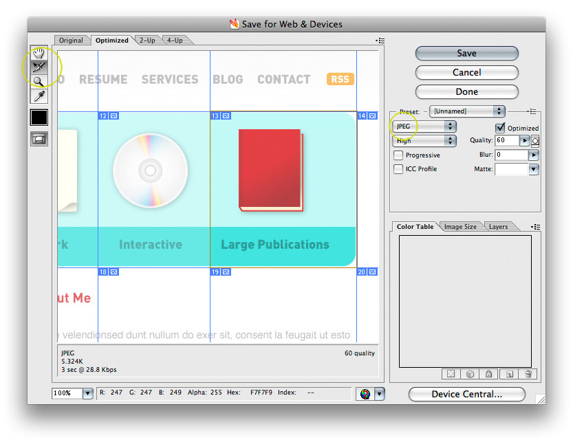 Use Adobe Illustrator to Create a Clean Website Layout