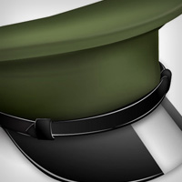 Preview for How to Make a Vector Military Cap Icon